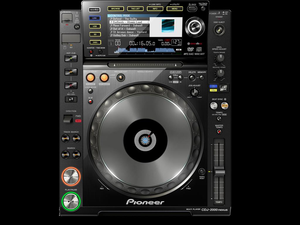 Alquilar Pioneer CDJ2000 NEXUS